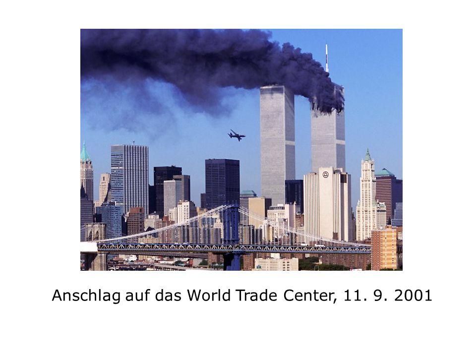 Anschlag auf das World Trade Center, 11. 9. 2001