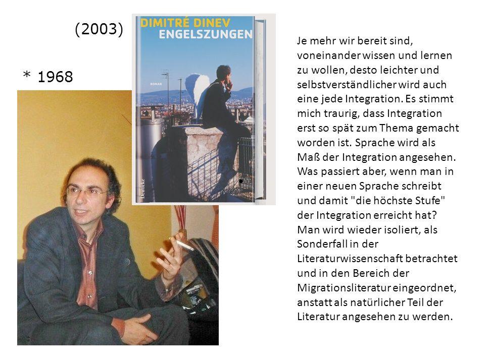 (2003) * 1968.