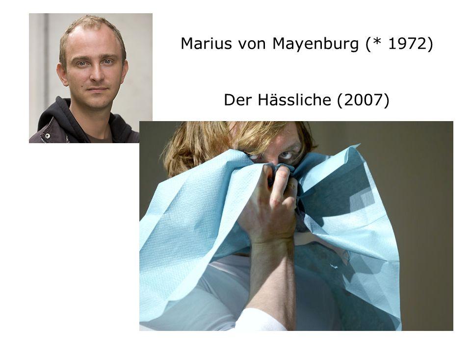 Marius von Mayenburg (* 1972) Der Hässliche (2007)