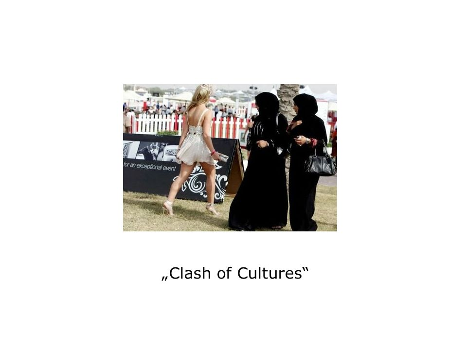 """Clash of Cultures"