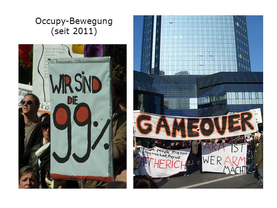 Occupy-Bewegung (seit 2011)
