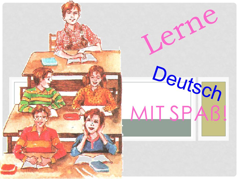 Lerne Deutsch mit Spaß!
