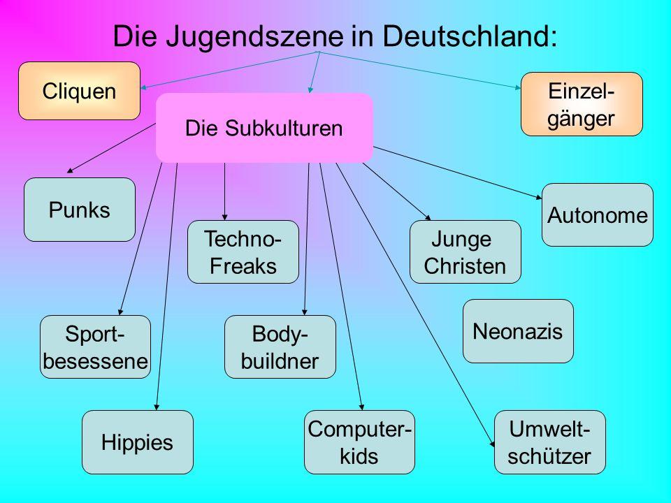 Die Jugendszene in Deutschland: