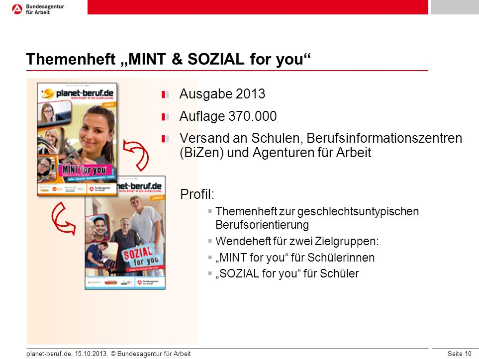 "Themenheft ""MINT & SOZIAL for you"