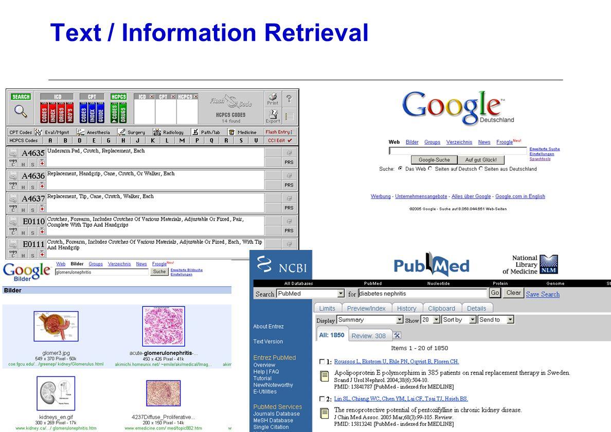 Text / Information Retrieval