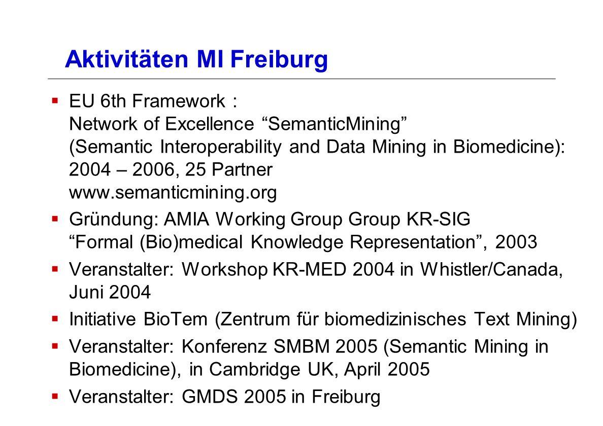 Aktivitäten MI Freiburg