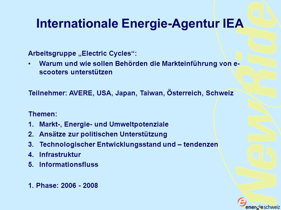 Internationale Energie-Agentur IEA