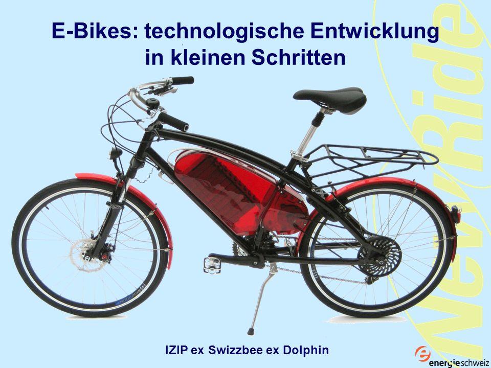 E-Bikes: technologische Entwicklung in kleinen Schritten