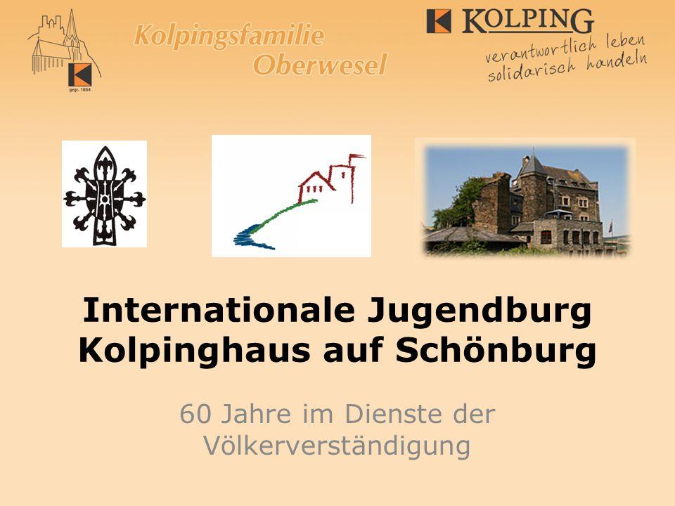 Internationale Jugendburg Kolpinghaus auf Schönburg