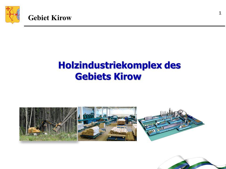 Holzindustriekomplex des Gebiets Kirow