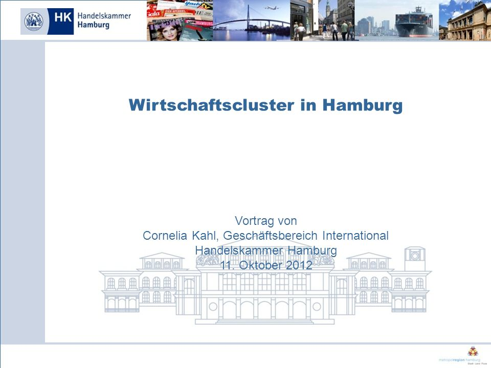 Wirtschaftscluster in Hamburg