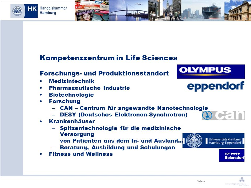 Kompetenzzentrum in Life Sciences Forschungs- und Produktionsstandort