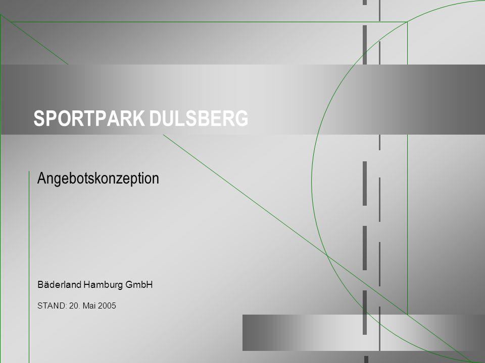 Angebotskonzeption Bäderland Hamburg GmbH STAND: 20. Mai 2005