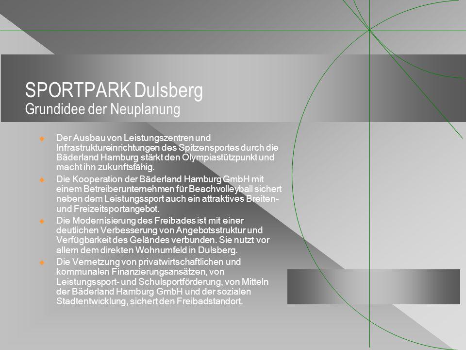 SPORTPARK Dulsberg Grundidee der Neuplanung