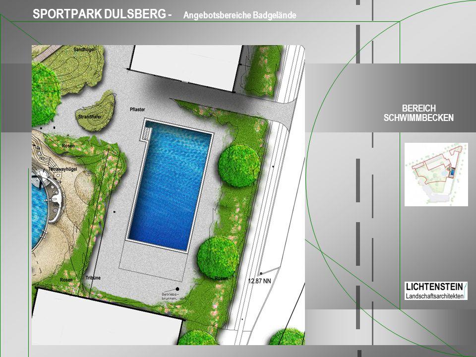 SPORTPARK DULSBERG - Angebotsbereiche Badgelände