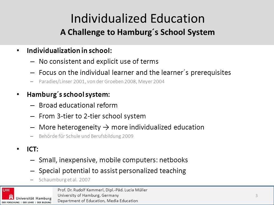 A Challenge to Hamburg´s School System