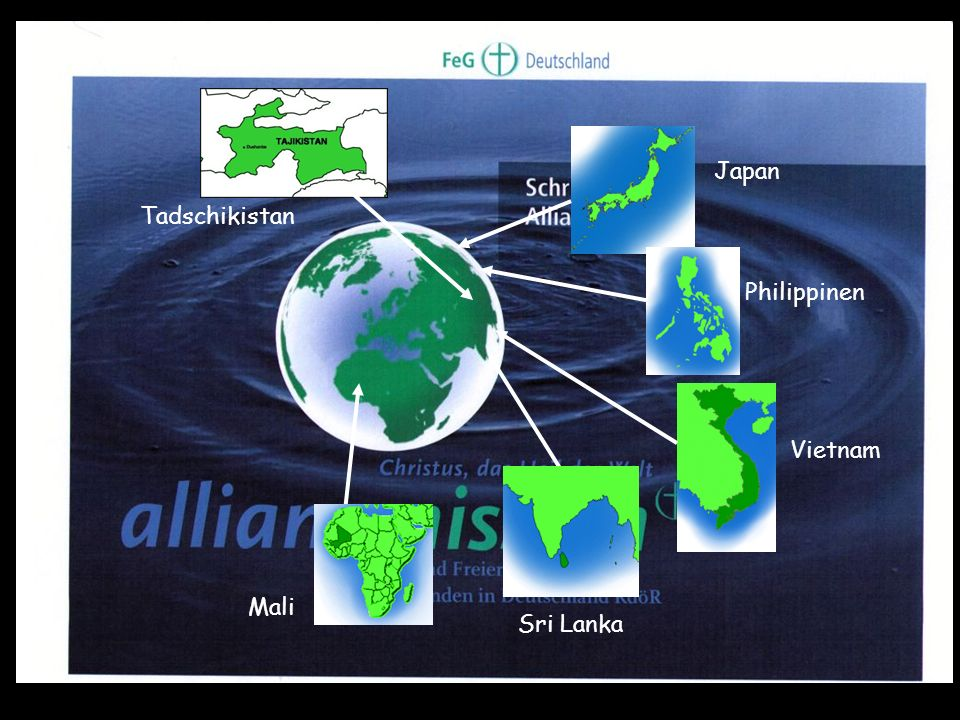 Tadschikistan Japan Philippinen Vietnam Sri Lanka Mali