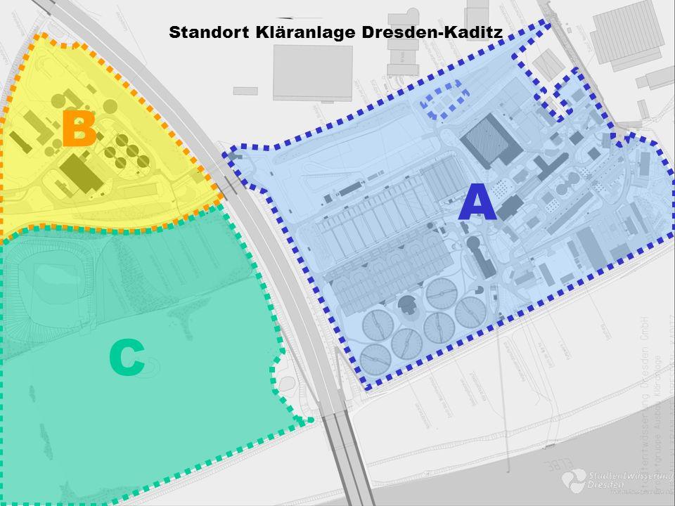Standort Kläranlage Dresden-Kaditz