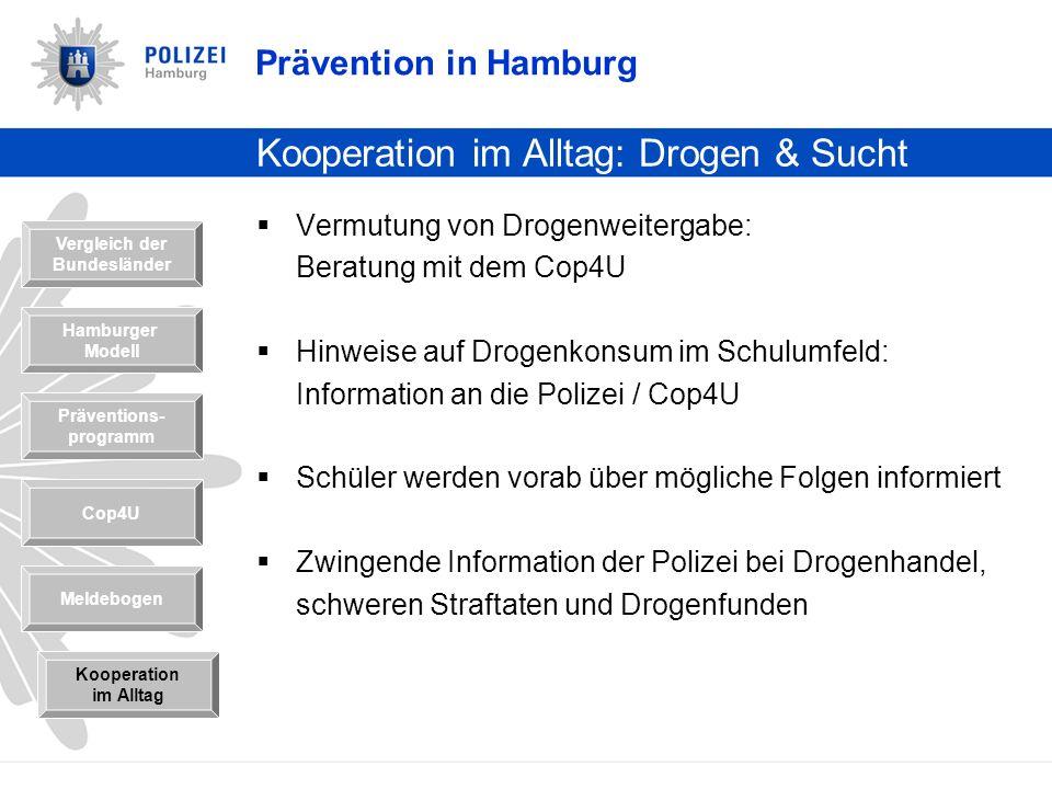 Kooperation im Alltag: Drogen & Sucht