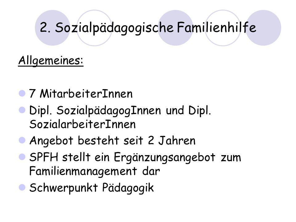 2. Sozialpädagogische Familienhilfe