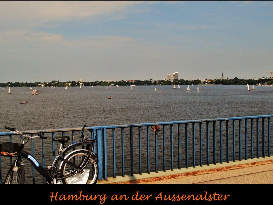 Hamburg an der Aussenalster