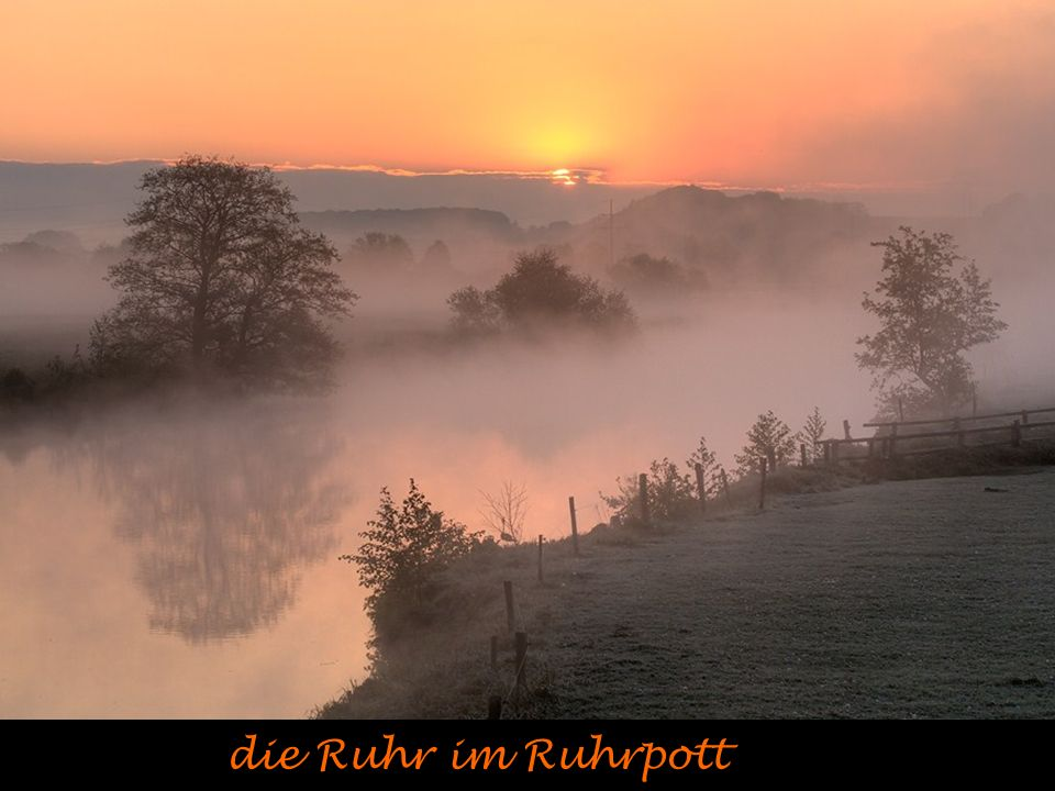die Ruhr im Ruhrpott