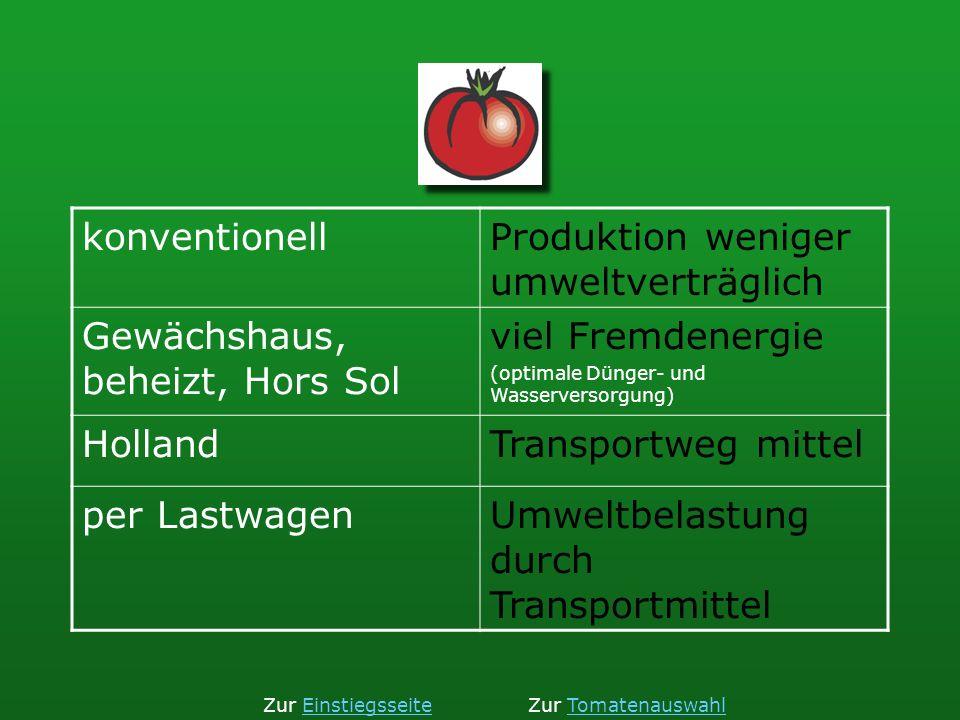 Produktion weniger umweltverträglich Gewächshaus, beheizt, Hors Sol