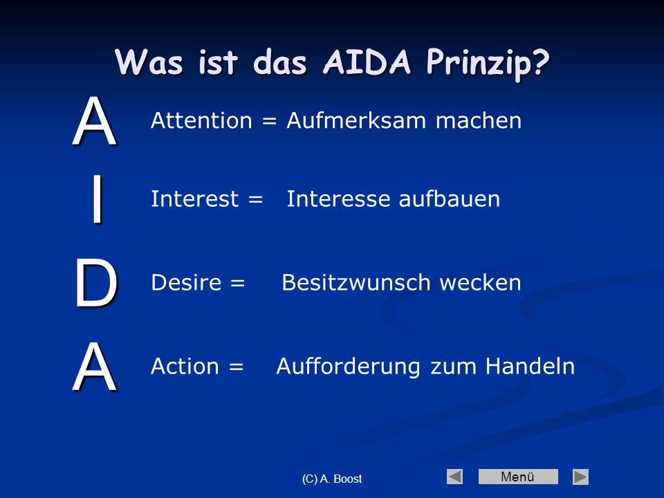 Was ist das AIDA Prinzip