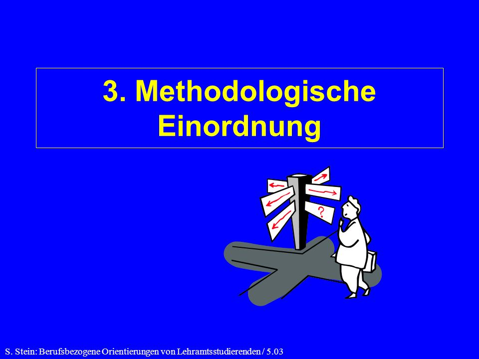 3. Methodologische Einordnung