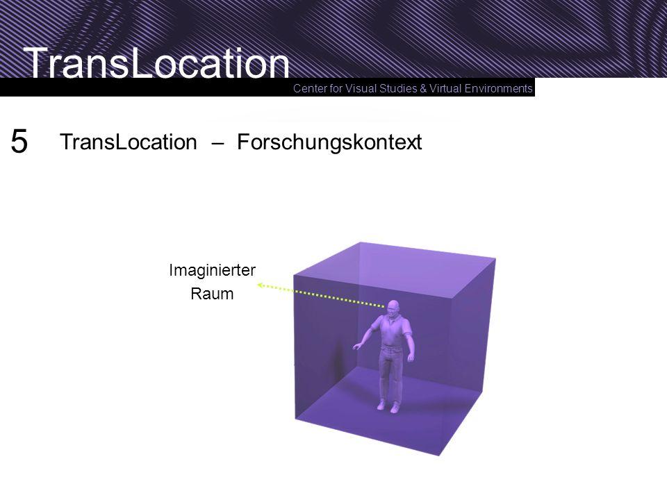 5 TransLocation – Forschungskontext Imaginierter Raum
