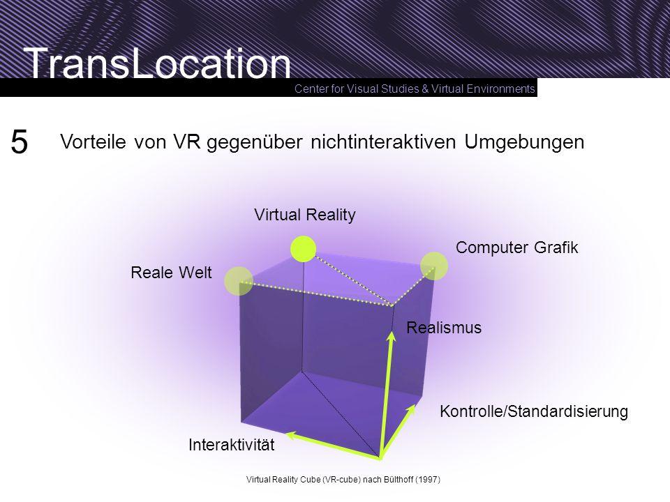 5 Vorteile von VR gegenüber nichtinteraktiven Umgebungen
