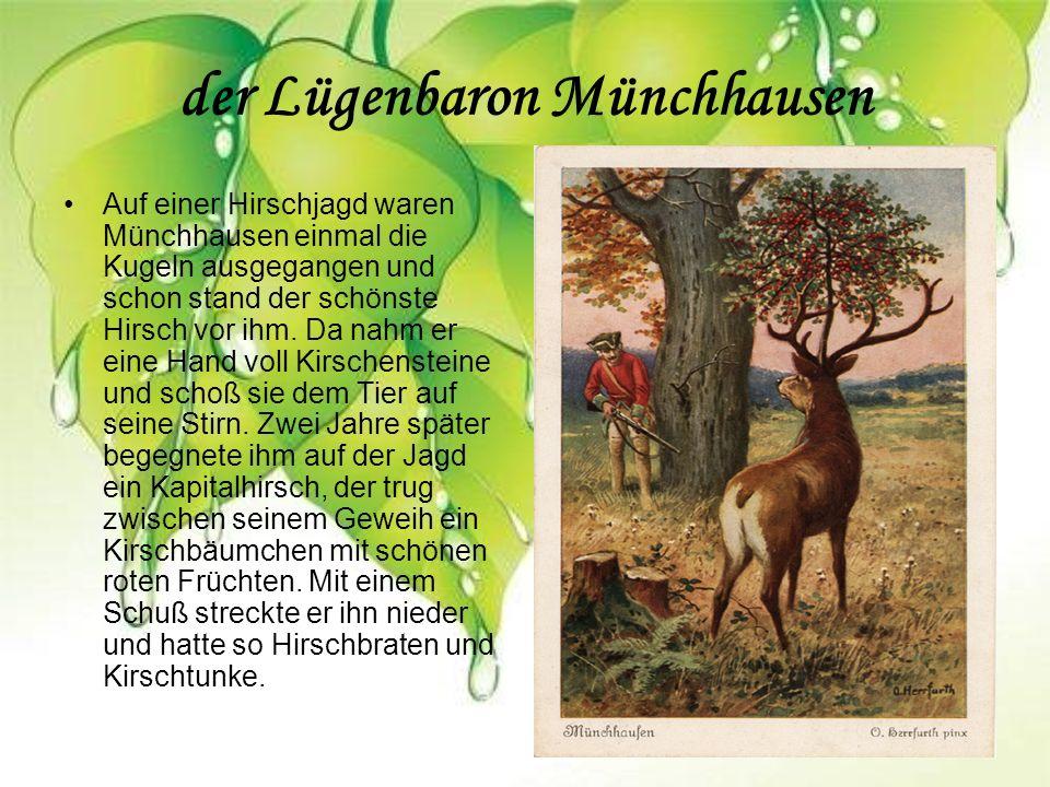 der Lügenbaron Münchhausen