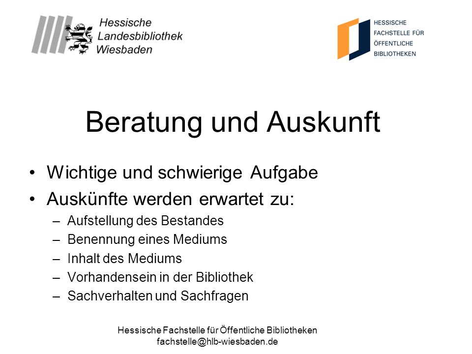 Hessische Fachstelle für Öffentliche Bibliotheken