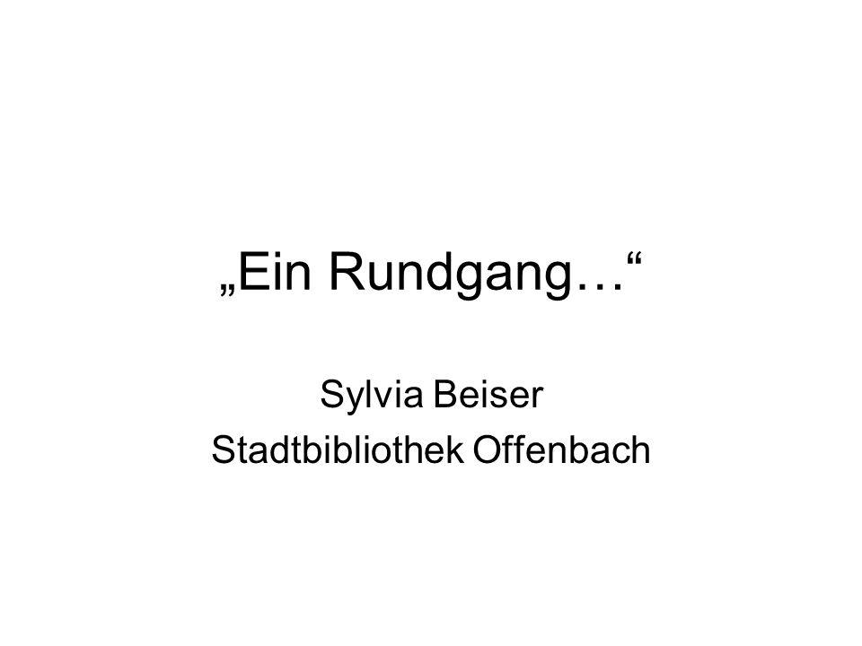 Sylvia Beiser Stadtbibliothek Offenbach