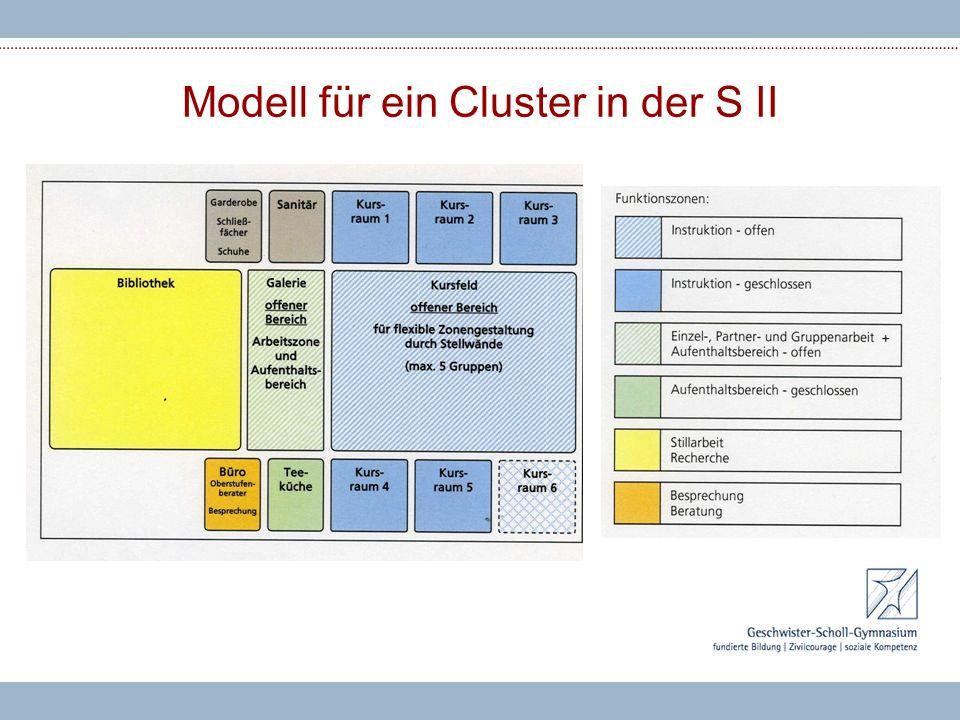 Modell für ein Cluster in der S II