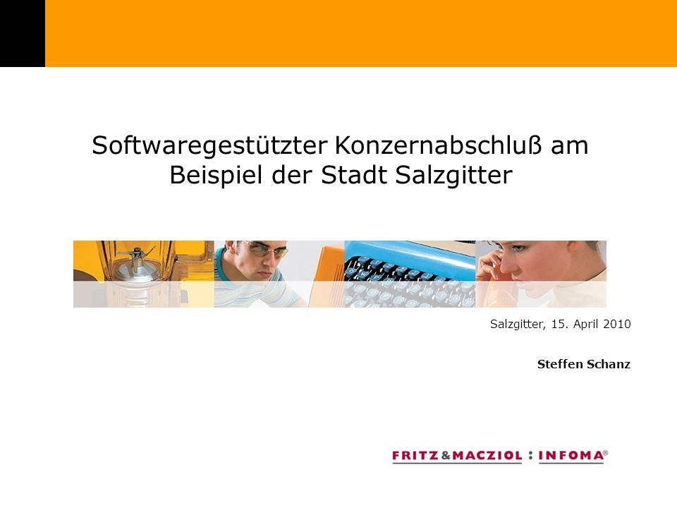 Softwaregestützter Konzernabschluß am Beispiel der Stadt Salzgitter