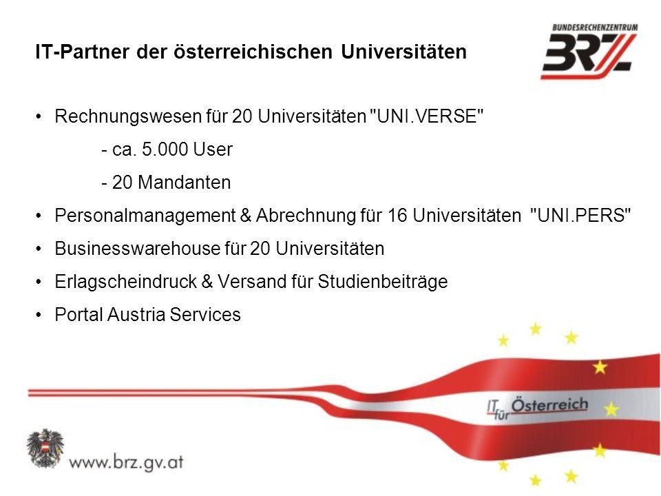 IT-Partner der österreichischen Universitäten