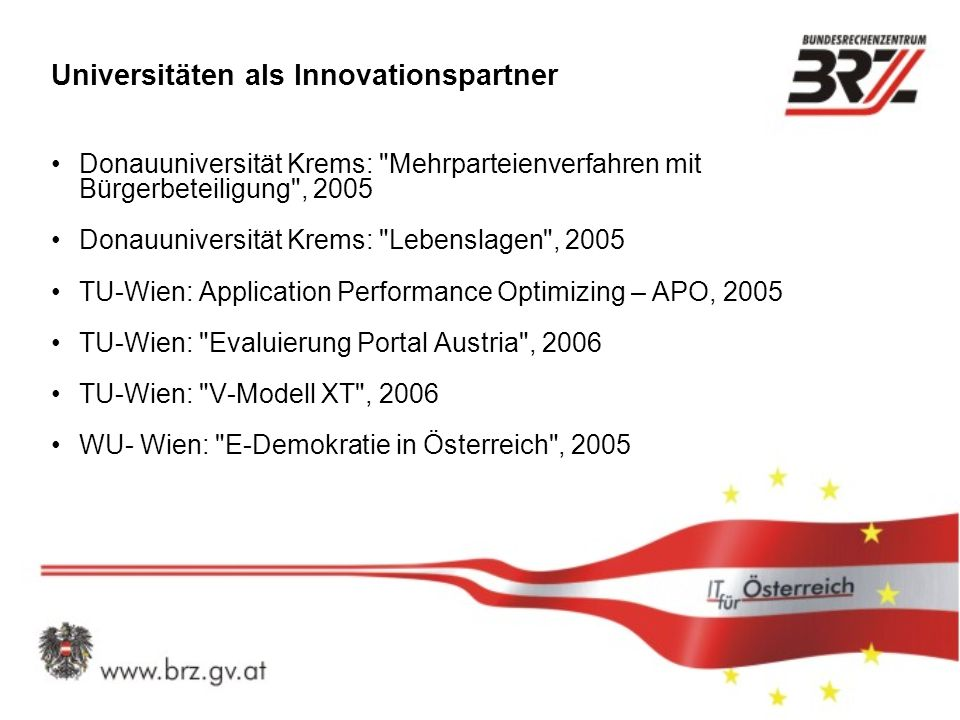 Universitäten als Innovationspartner