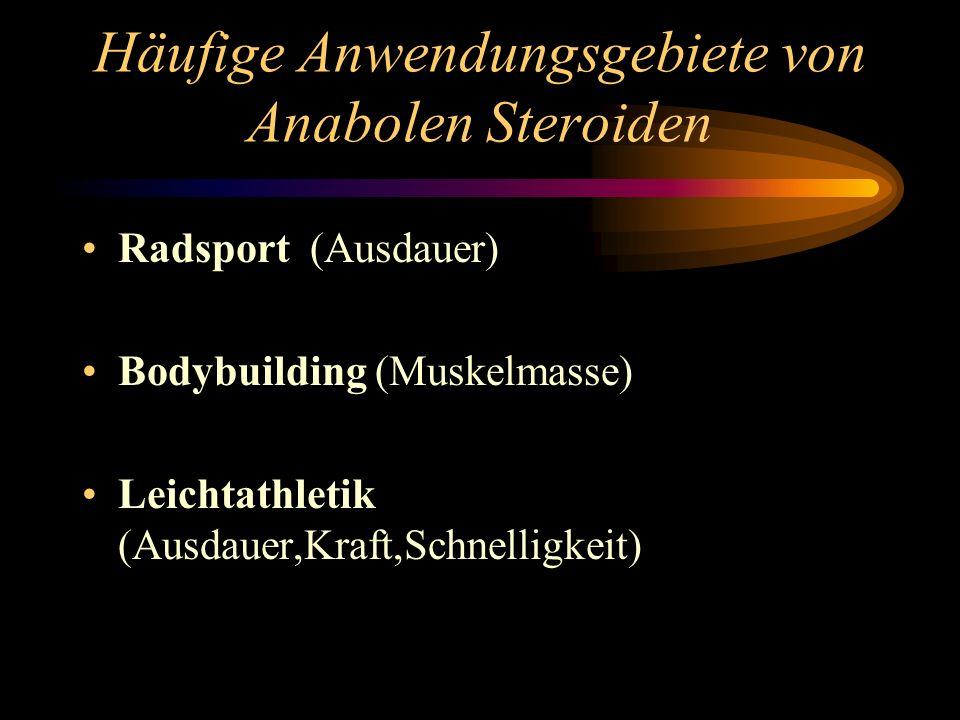 Häufige Anwendungsgebiete von Anabolen Steroiden