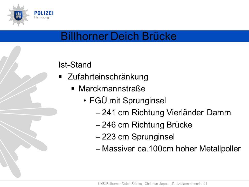 Billhorner Deich Brücke