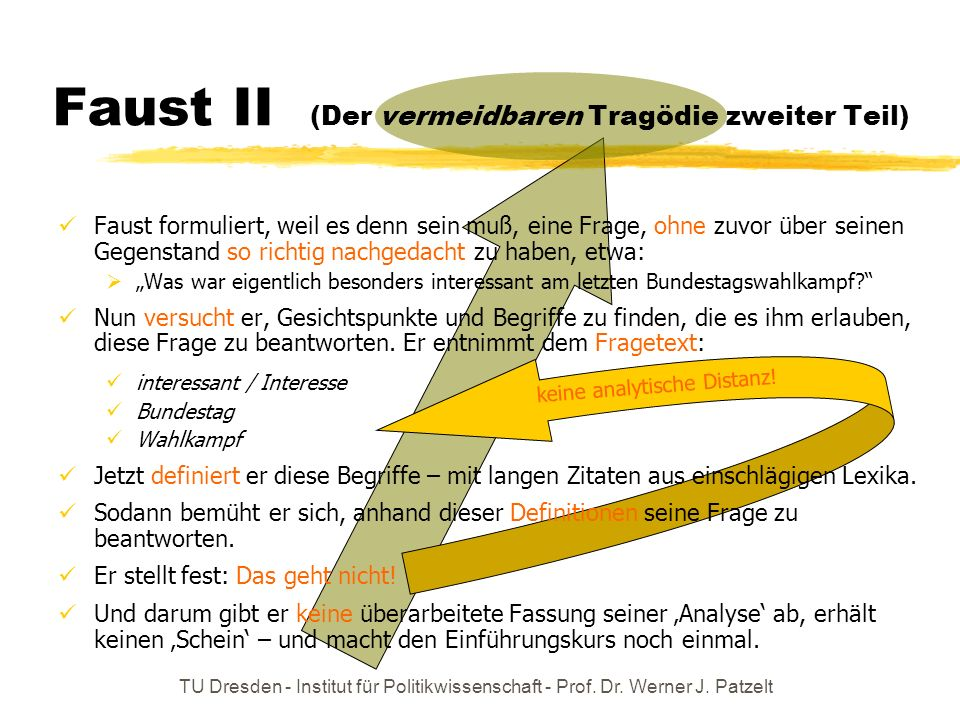 Faust II (Der vermeidbaren Tragödie zweiter Teil)