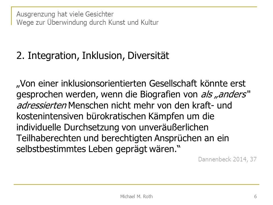 2. Integration, Inklusion, Diversität