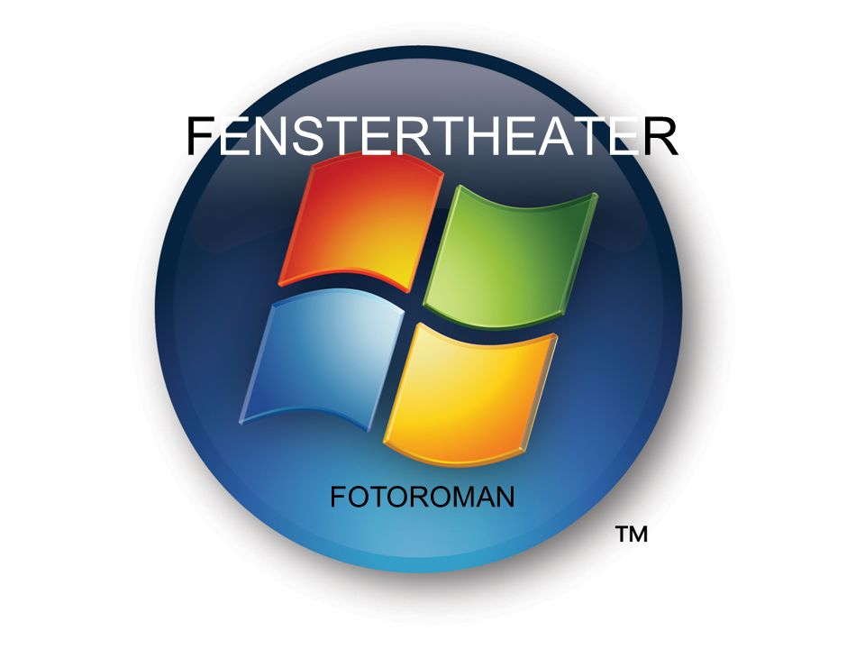 FENSTERTHEATER FOTOROMAN FOTOROMAN