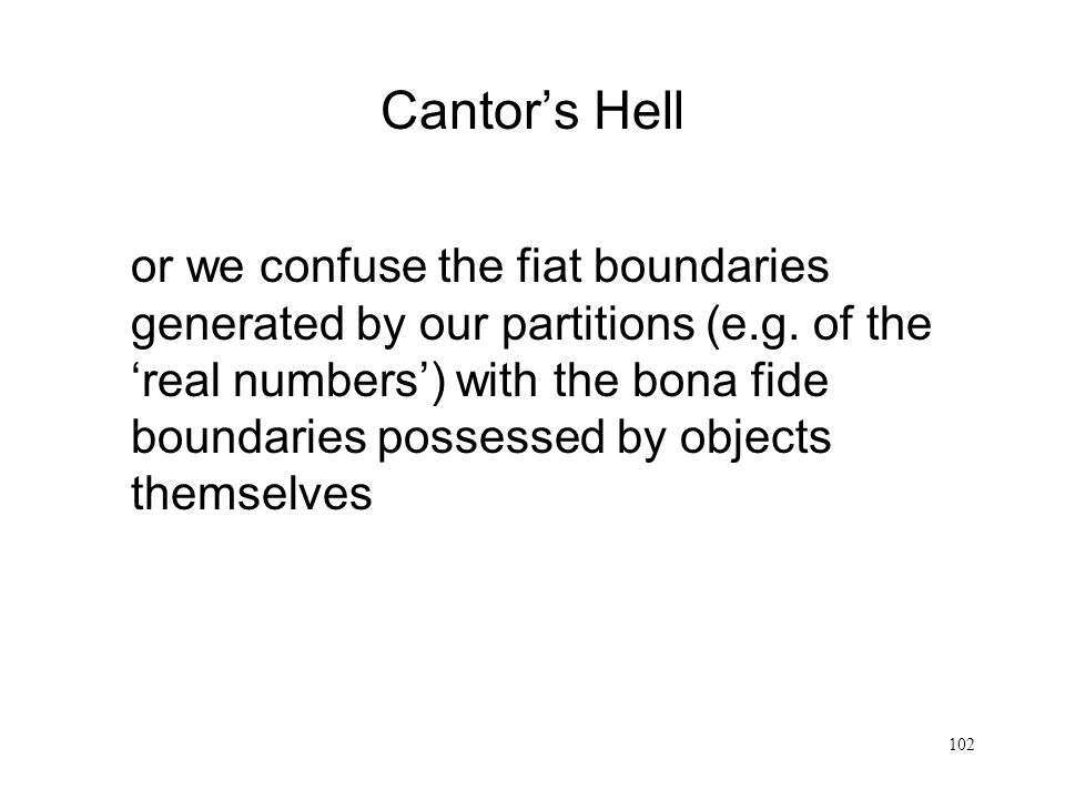 Cantor's Hell