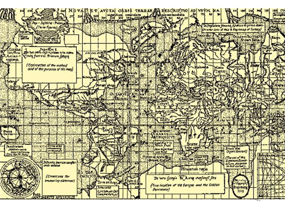 Grids of Reality (Mercator 1569)