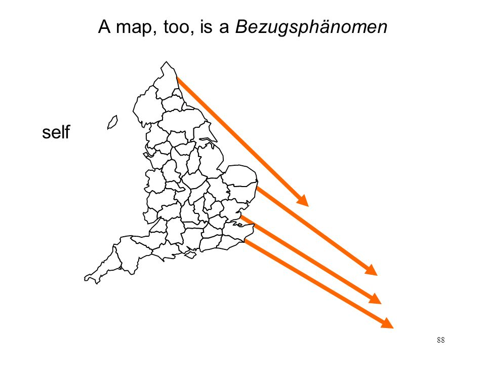 A map, too, is a Bezugsphänomen