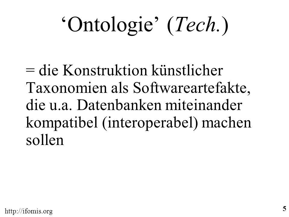 'Ontologie' (Tech.)