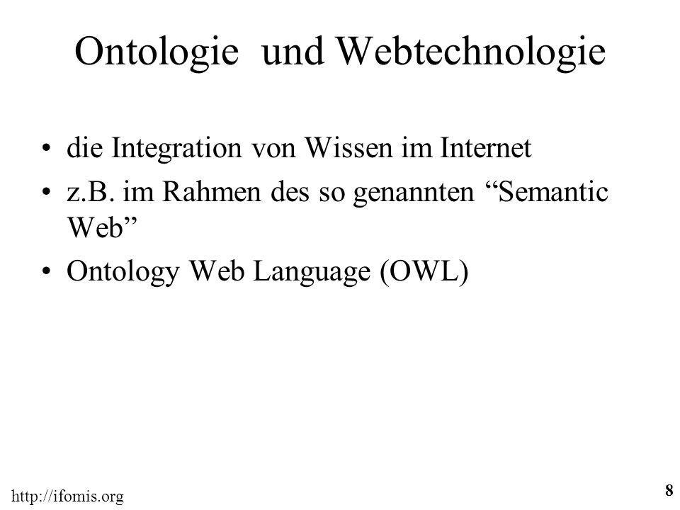 Ontologie und Webtechnologie