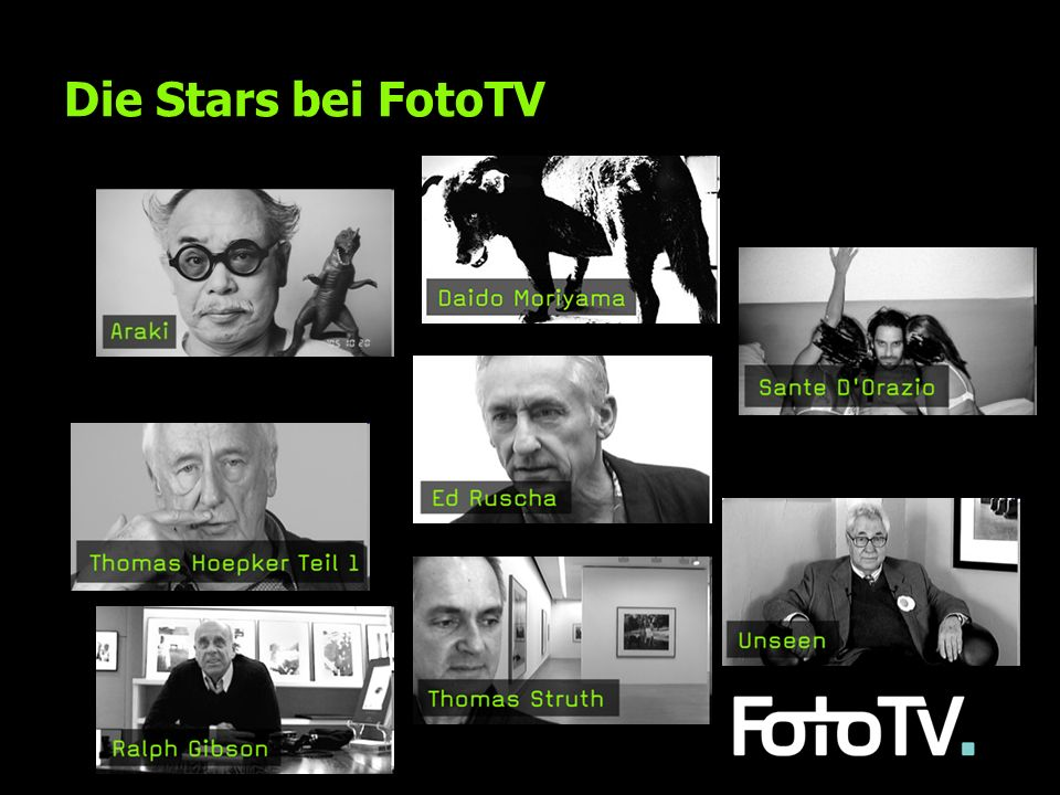 Die Stars bei FotoTV