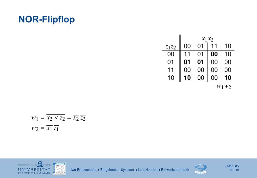 NOR-Flipflop